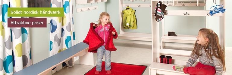 Børne garderobe