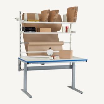 Pakkeborde og pakkestativer