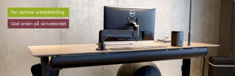 Skærm- og laptoptilbehør